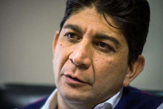 Shameel Joosub, chief executive officer of the Vodacom Group. Picture: Waldo Swiegers/Bloomberg