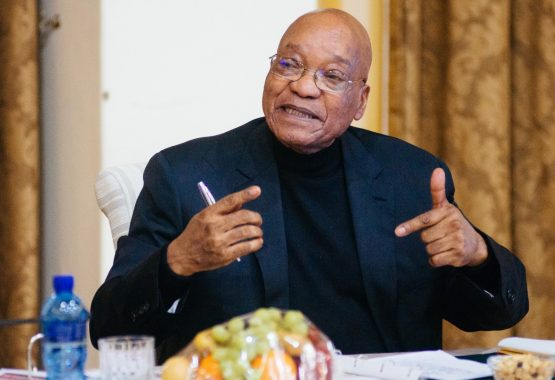 Jacob Zuma, South Africa's president