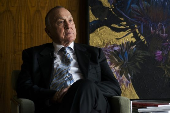 Christo Wiese, billionaire and chairman of Steinhoff Holdings. Photo source: Bloomberg