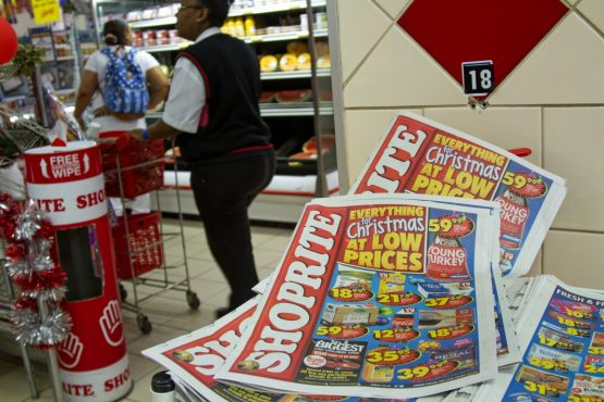 Shoprite'e total turnover grew to about R145.6 billion for the financial period ended June 2018.  Picture: Dean Hutton,Bloomberg