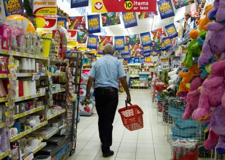 Shoprite slides as spending by SA customers slows