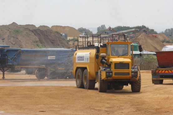 Activities continue at Interwaste's busy FG Landfill site.