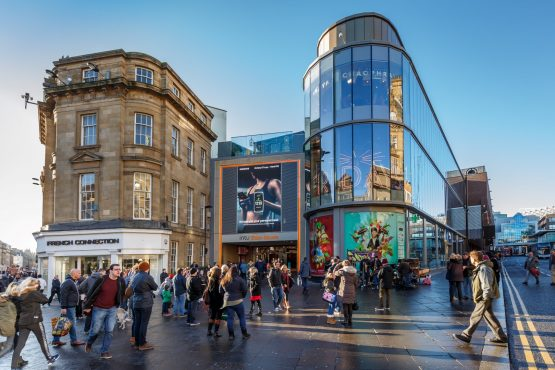 Intu Eldon Square in Newcastle, one of the largest CBD shopping destinations in the UK. Photographer: Tony Hall