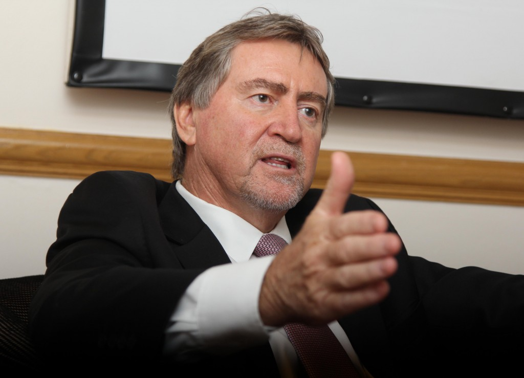 Johan Burger was 'surprised' by ANC's summon to Luthuli House