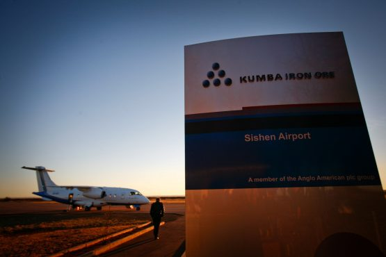 Kumba Iron Ore reports a 239% increase in half-year earnings. Picture: Nadine Hutton, Bloomberg