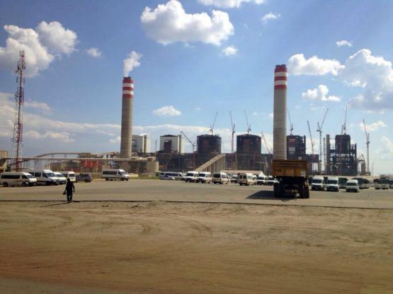 Tubular Technical Construction is still on site at Kusile Power Station, despite there being an application for the provisional liquidation of its main shareholder. Picture: Moneyweb
