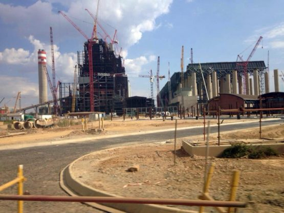 The construction of Eskom's Kusile power station (pictured) has been marred by cost and time overruns with most units down and out of service.  Picture: Supplied