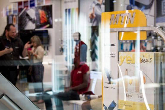 MTN plans to expand its base into Namibia. Picture: Bloomberg