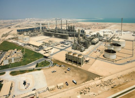 Fuel plant in middle-eastern country, Qatar. Picture: Supplied