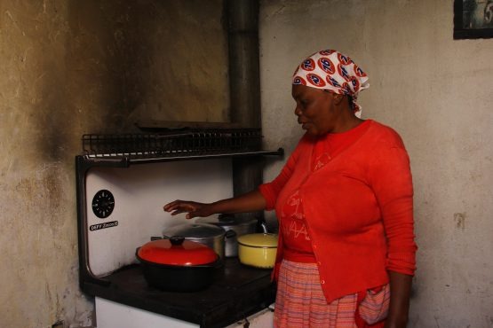 Many residents in Orlando East complain about the high cost of prepaid electricity. Some opt to use primus stoves to cook. Picture: Desiree Swart