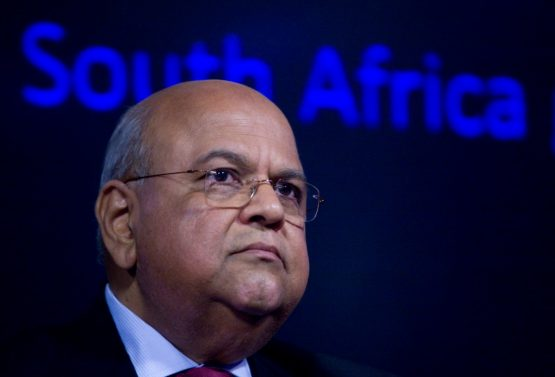 Former finance minister Pravin Gordhan. Picture: Chris Ratcliffe/Bloomberg