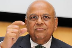 Under-fire Gordhan in trial of strength over SA budget