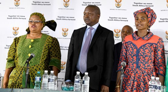 Deputy president David Mabuza has struggled to shrug off longstanding allegations of corruption in Mpumalanga, where he was formerly the premier. Picture: GCIS