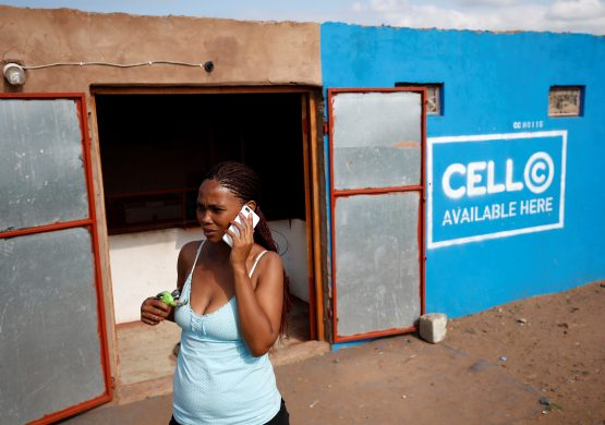 Cell C – hanging on. Image: Rogan Ward, Reuters