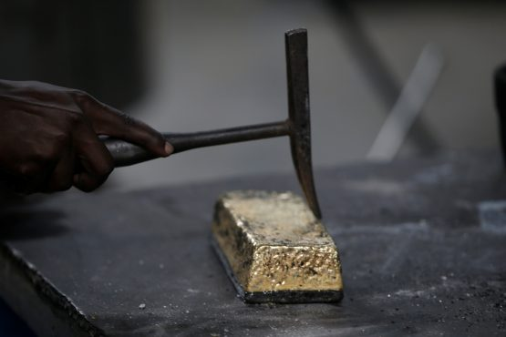 Prices are under pressure as investors sell metal in hunt for cash. Image: Reuters