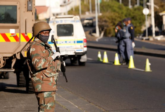 Consider how many people have been arrested for state capture. Now consider that almost a quarter of a million South Africans have been arrested for being in breach of lockdown regulations. Image: Mike Hutchings, Reuters