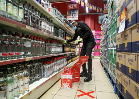 SA shoppers stock up on booze as sales resume