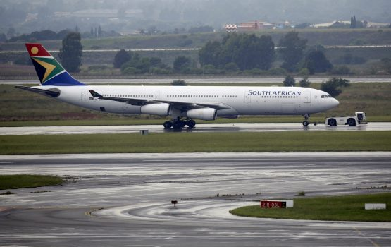 Gordhan accused the airline's locked-out pilots of sabotage as they 'keep postponing training that can easily be done daily quickly in order that [other] pilots are up to date'. Image: Rogan Ward, Reuters