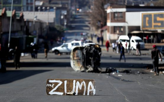 By late Tuesday evening, some five days in, the police ministry had confirmed 72 deaths and 1 234 arrests. Image: Siphiwe Sibeko, Reuters