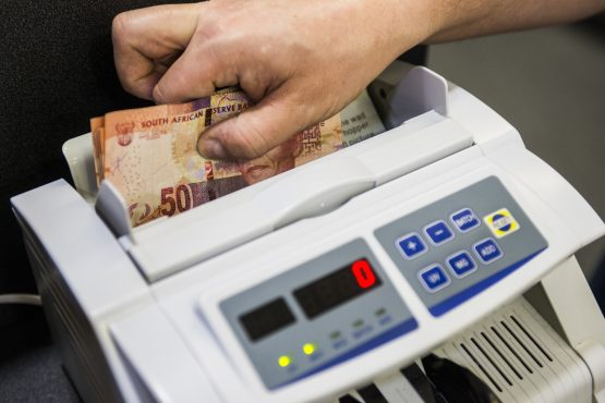 Namibia commits to rand currency peg. Picture: Waldo Swiegers, Bloomberg