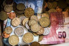 Rand under pressure, weighed down by financials