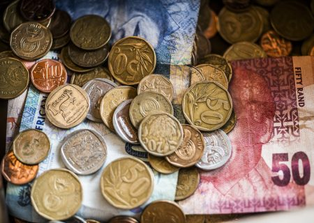 Rand retreats against rebounding greenback, stocks rise
