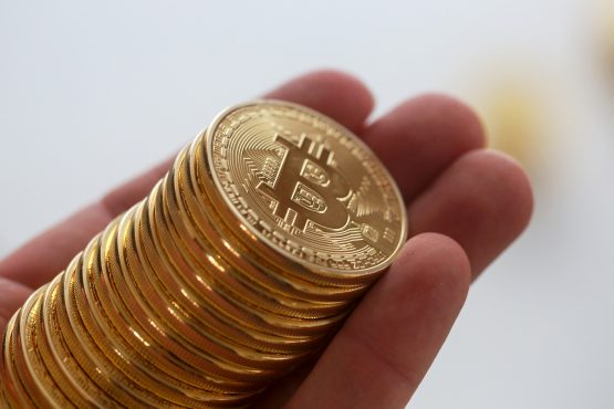 Put another way, those six bitcoin would have cost a little over R4 100 in 2011. Image: Chris Ratcliffe, Bloomberg