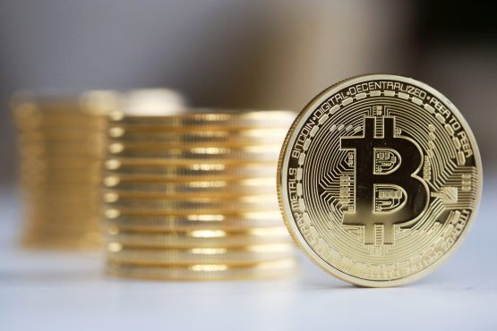 The world's biggest cryptocurrency has surged in value since April as traders supposedly look to alternative investments, analysts say. Picture: Chris Ratcliffe, Bloomberg