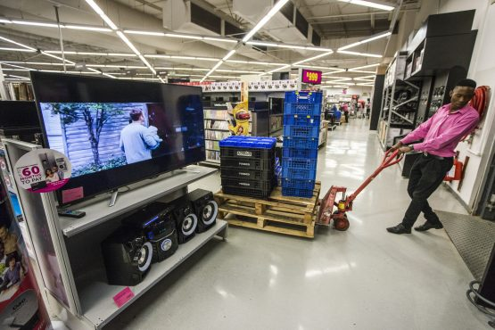 Massmart is contending with falling sales at some retail outlets amid a slowdown in SA's economy and high unemployment. Picture: Waldo Swiegers, Bloomberg