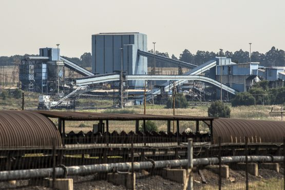 Coal processing buildings stand at the Optimum Colliery, owned by Glencore Plc, in Middelburg. Picture: Waldo Swiegers/Bloomberg