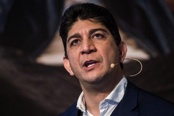 Shameel Joosub, CEO of Vodacom Group Ltd. Picture: Waldo Swiegers/ Bloomberg
