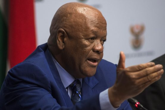 Newly-appointed energy minister Jeff Radebe. Picture: Waldo Swiegers/Bloomberg