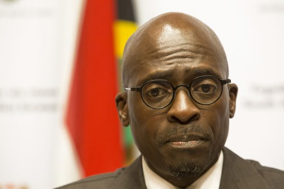 Finance minister Malusi Gigaba has a tough task of convincing ratings agencies not to downgrade South Africa. Picture: Bloomberg