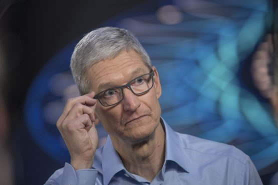 Tim Cook, chief executive officer of Apple. Picture: Bloomberg