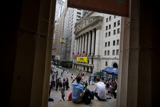 Indexes off: Dow 0.39%, S&P 0.28%, Nasdaq 0.45%. Picture: Bloomberg