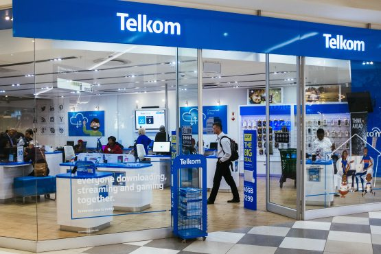 Telkom shares are down more than 4% after the announcement of the MTN-Cell C deal. Image: Waldo Swiegers/Bloomberg
