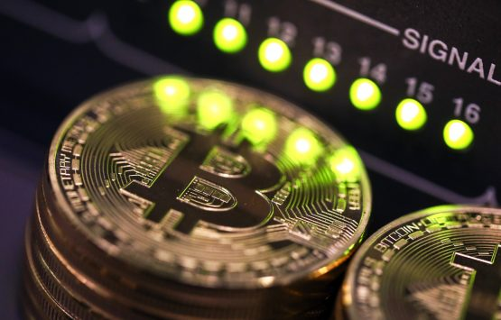The biggest cryptocurrency is down roughly 20% this week as authorities show they're prepared to intervene. Picture: Chris Ratcliffe/Bloomberg