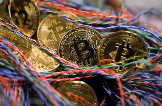 Questions abound regarding the safety of the 17 000 bitcoin (worth around R5.6bn) reported to be under MTI's control. Image: Chris Ratcliffe, Bloomberg