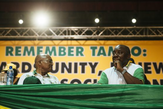 Zuma's exit is said to not have been discussed at the first ANC meeting of the year. Picture: Waldo Swiegers/Bloomberg
