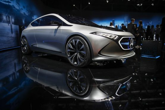 Mercedes defended the global top spot last year with record deliveries and profits. Picture: Bloomberg
