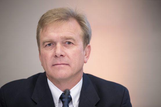 Steinhoff CEO Louis du Preez unveils firm's restructuring plan. Picture: Jasper Juinen, Bloomberg