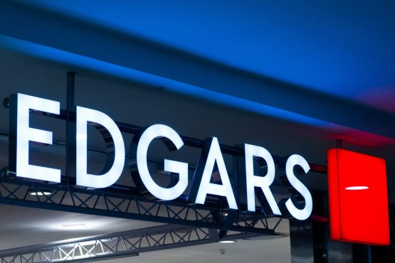 The refreshed Edgars logo will appear on the revamped store in Joburg, which is set to reopen in November. Image: Waldo Swiegers, Bloomberg