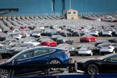 New vehicle sales drop, PMI slides down