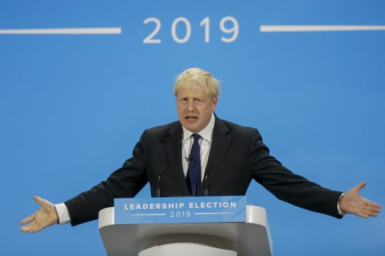 UK Prime Minister Boris Johnson will on Saturday try to win parliament's approval for the divorce treaty he struck in Brussels on Thursday. Image: Simon Dawson, Bloomberg