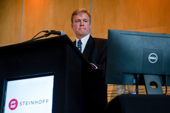 Fortunately for Steinhoff CEO Louis du Preez the proposed settlement does not need 100% acceptance; it can be implemented if some claimants baulk. Image: Dwayne Senior, Bloomberg