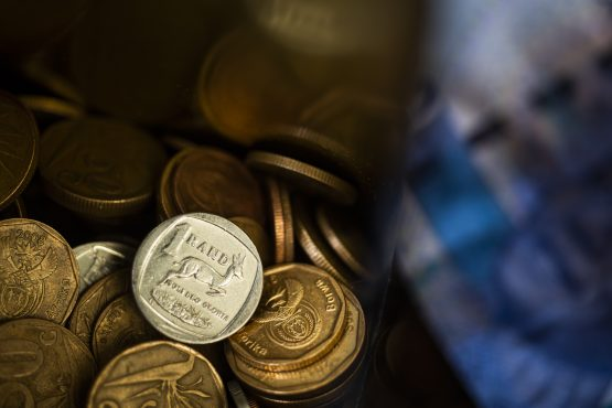 Rand firms on Wednesday. Image: Waldo Swiegers, Bloomberg