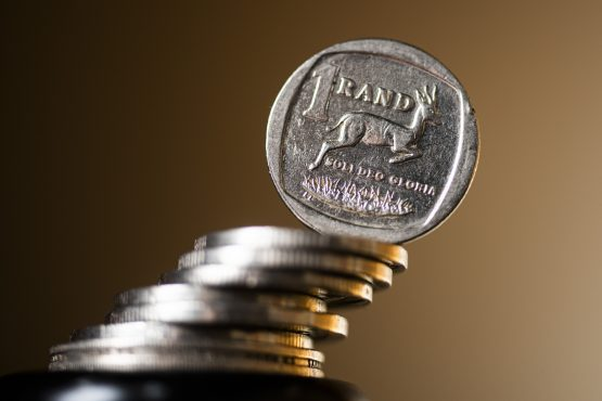 The rand's movements are hinged on the Federal Reserve's moves. Image: Waldo Swiegers, Bloomberg
