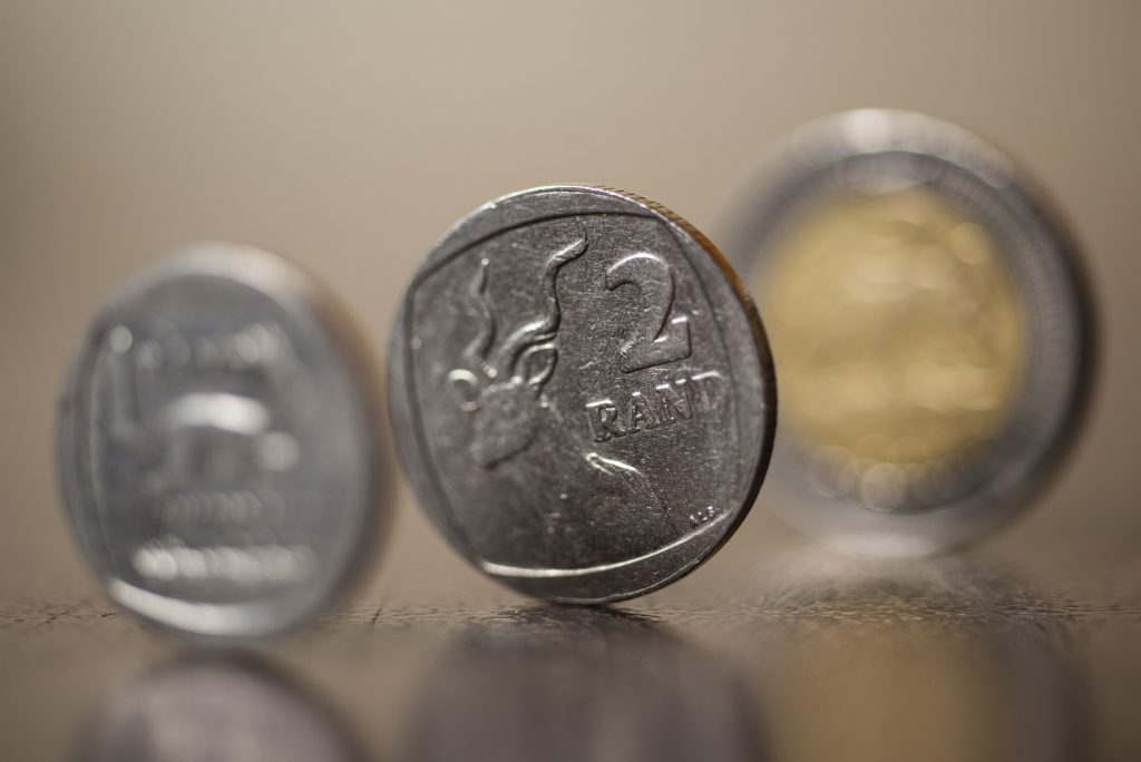 Rand firms against dollar before current account data