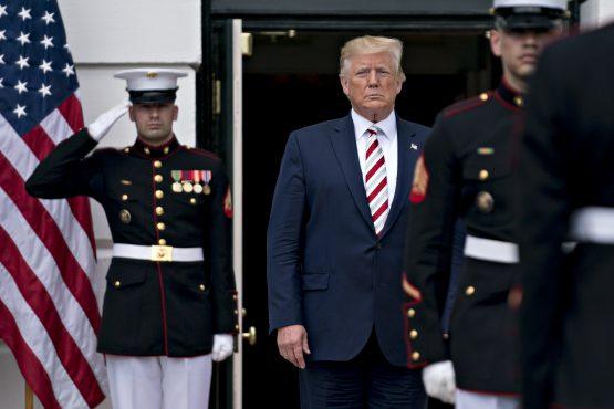 US president Donald Trump. Image: Bloomberg