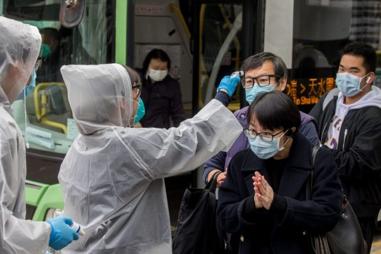 The coronavirus has not been around long enough for scientists to determine if it is seasonal, however, it can be likened to the common cold, experts say. Image: Paul Yeung, Bloomberg
